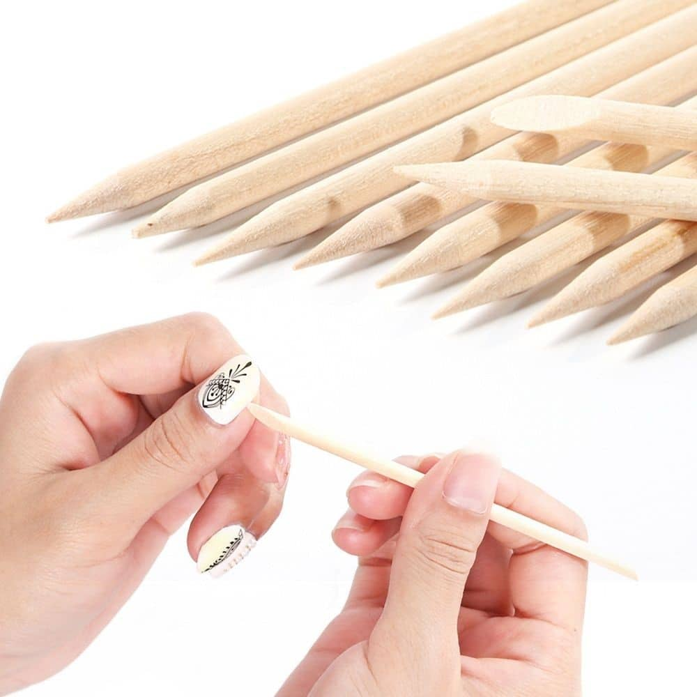Wooden or Steel Cuticle Stick